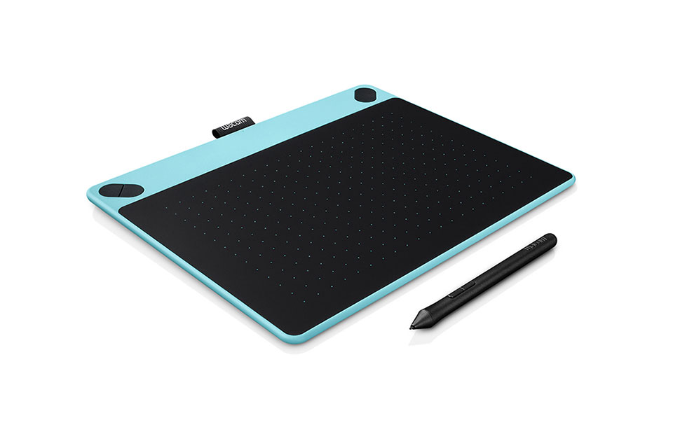 Intuos Art medium (M), blue